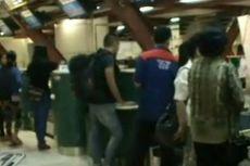 Taxiway Bandara Sultan Hasanuddin Amblas, Tiga Penerbangan Tertunda