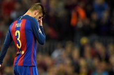 Pique: Suporter Barcelona Tak Suka Skor 1-0