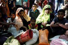 Pengungsi Rohingya Tinggal Berjejalan di Kamp Banglades