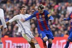 Jelang Laga El Clasico, Ada Gambar Kontroversial Messi dan Ronaldo