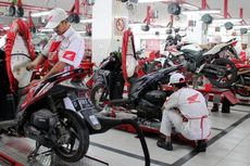 Mekanik Honda Siaga Sepanjang Musim Mudik Lebaran
