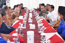Jokowi Dengarkan Apresiasi Buruh dengan Makan Siang Bersama