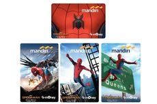 Sambut Kehadiran Spider-Man, Bank Mandiri Rilis e-Money Edisi Khusus