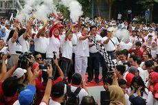 Sambut HUT ke-72 RI, Lima BUMN Kenalkan Budaya Nusantara Melalui Jalan Sehat