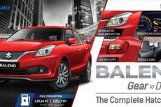 Suzuki Luncurkan 'The Complete Hatchback'  Baleno, Gear to Define