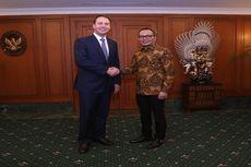 Menaker Terima Kunjungan Menteri Perdagangan Australia Bahas Kerjasama  IA-CEPA