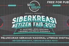 """SiBerkreasi Netizen Fair 2017 Ajak Warganet Bikin """"Adem"""" Dunia Maya"""