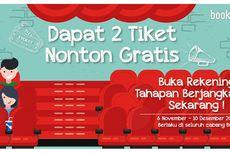 Buka Rekening Tahapan Berjangka BCA, Bonus Tiket Nonton