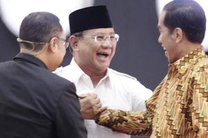 Survei Kompas: Elektabilitas Jokowi Meningkat, Prabowo Menurun