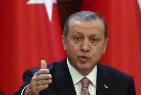 Foto Erdogan Jadi Sasaran Tembak, Turki Tarik Pasukan dari Latihan NATO