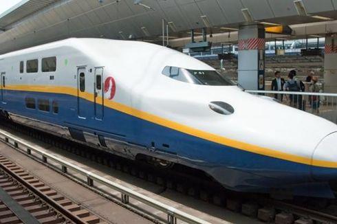 Ada Retak dan Kebocoran pada Gerbong, Kereta Cepat Jepang Nyaris Celaka