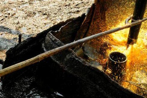 Sumur Minyak di Bojonegoro Kebakaran