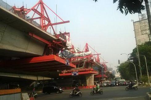 Ini Titik Kemacetan Akibat Konstruksi