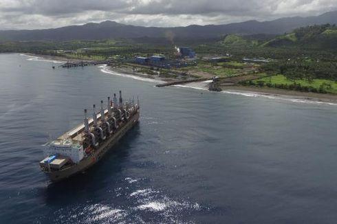 Kapal Pembangkit Listrik dari Turki Berlayar menuju Medan