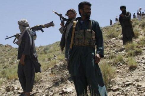 Pakai Humvee Penuh Bom, Taliban Ledakkan Markas Tentara Afganistan