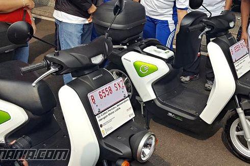Honda Belum Yakin Produksi Motor Listrik di Indonesia
