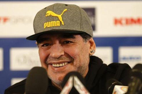 Italia Gagal ke Piala Dunia, Maradona Ikut Berduka