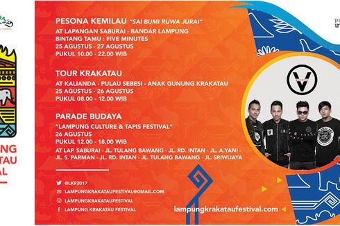 Lampung Krakatau Festival 2017 Digelar Akhir Pekan Ini