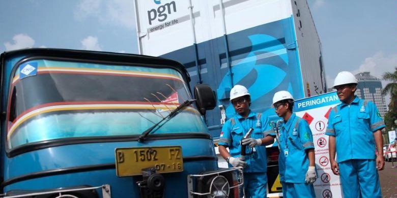 PGN Gelar Mudik Gratis bagi Sopir Bajaj