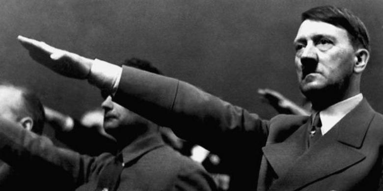 Pemimpin Nazi, Adolf Hitler.