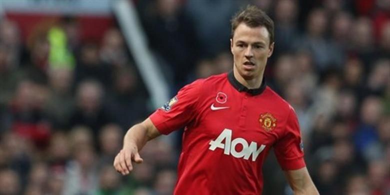 Bek Manchester United, Jonny Evans.(Dok. Manchester United)