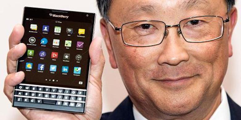 Strategi BlackBerry di Indonesia Tuai - Pemegang saham terbesar Fairfax memuji keputusan CEO John yang memutuskan BlackBerry melisensi software dengan vendor lokal di Dalam