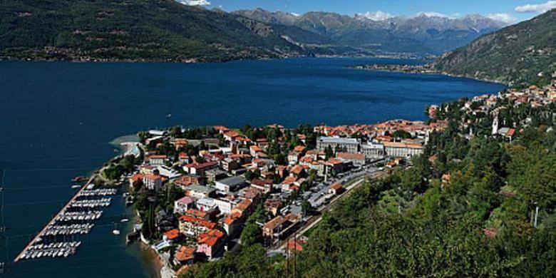 Kota Bellano di tepian Danau Como, <a href='https://pontianak.tribunnews.com/tag/italia' title='Italia'>Italia</a>.(Alamy/Telegraph)