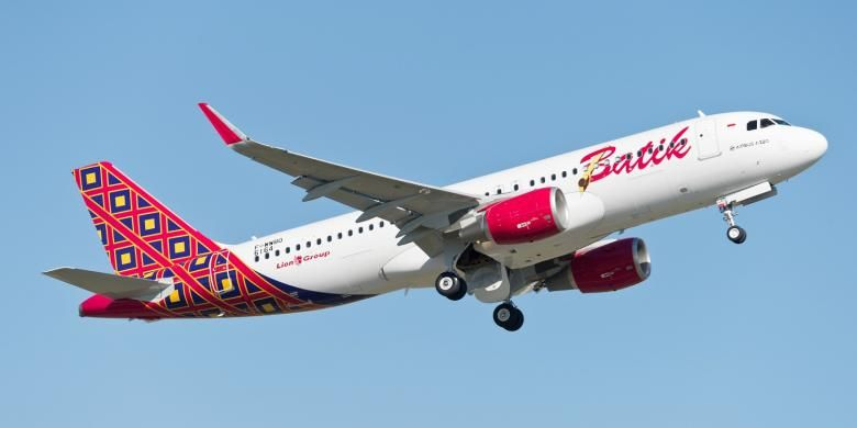 Armada Airbus A320 Batik Air
