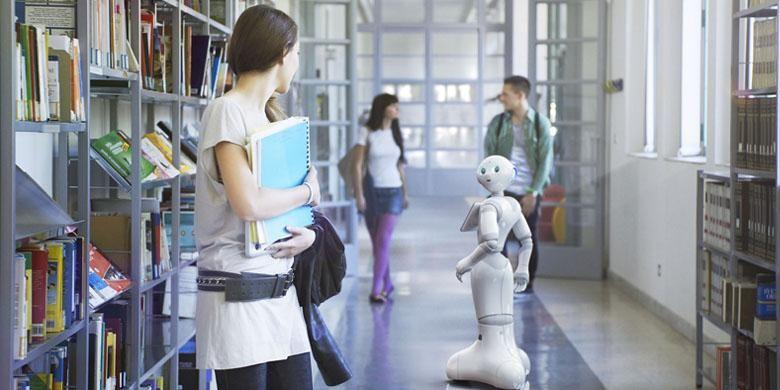 Robot Pepper dirancang agar bisa mengenali emosi manusia