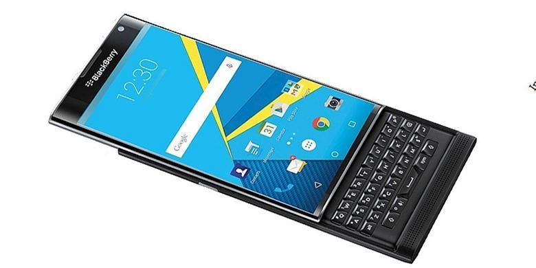 BlackBerry Priv Tak Kebagian Android Nougat