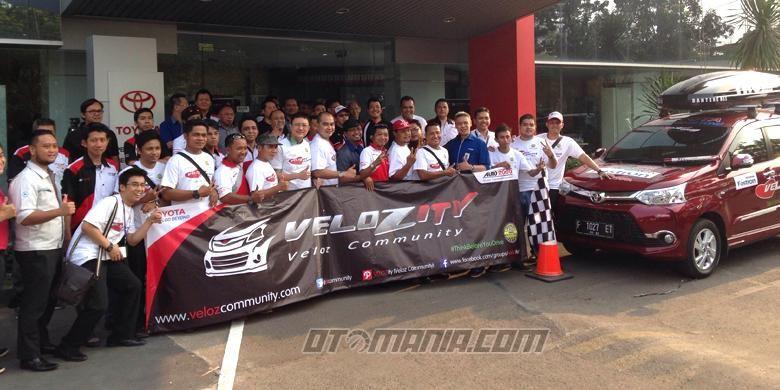 Komunitas pengguna Toyota Veloz akan menjelajah Pulau Sumatera hingga ke Titik Nol.