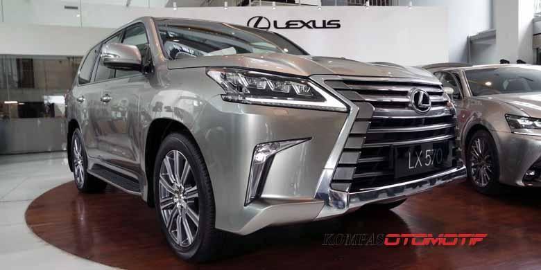 All-New Lexus LX 570 resmi meluncur di Jakarta, Selasa (1/3/2016).
