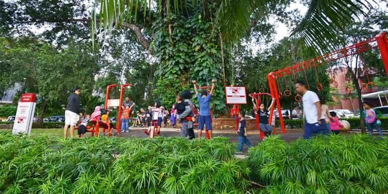 Active Park di Taman Ayodya Barito, Jakarta Selatan.    Dok: Coca-Cola Indonesia