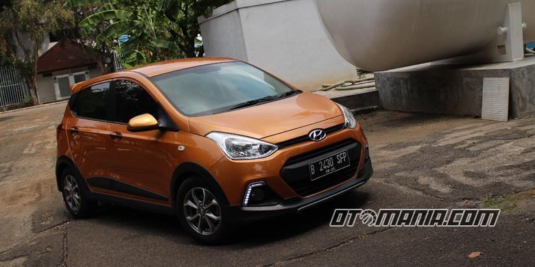 Tampilan gagah Hyundai Grand i10X.