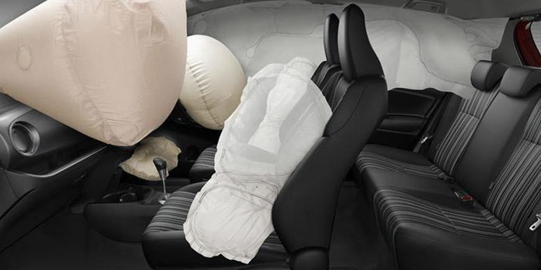 """0429248Yaris Features SRS Airbags780x390 » Mana Lebih Mendesak, Fitur ABS Atau """"Airbag"""" ?"""