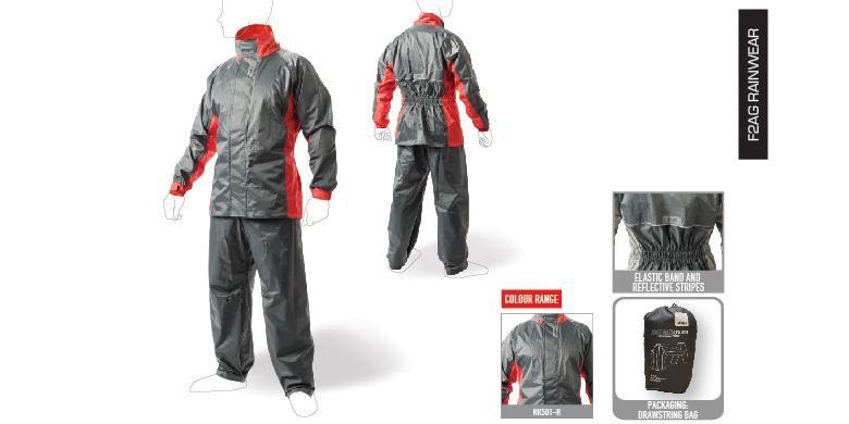 Givi RRS01, terbuat dari material nylon 190T PVC with dengan tingkat ketahanan air sampai 5000 mm.