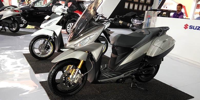 Diam-diam Suzuki Siapkan Skutik Baru