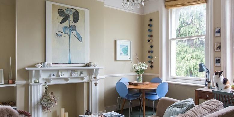 Desain interior rumah bergaya Skandinavia