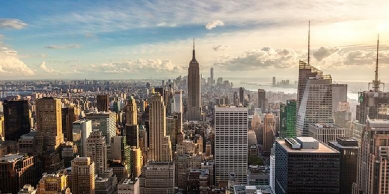 New York City, tempat diselenggarakannya ICINC NY 2017 yang digagas Bekraf dan NY NOW 2017 yang juga diikuti delapan merek Indonesia hasil seleksi Bekraf.