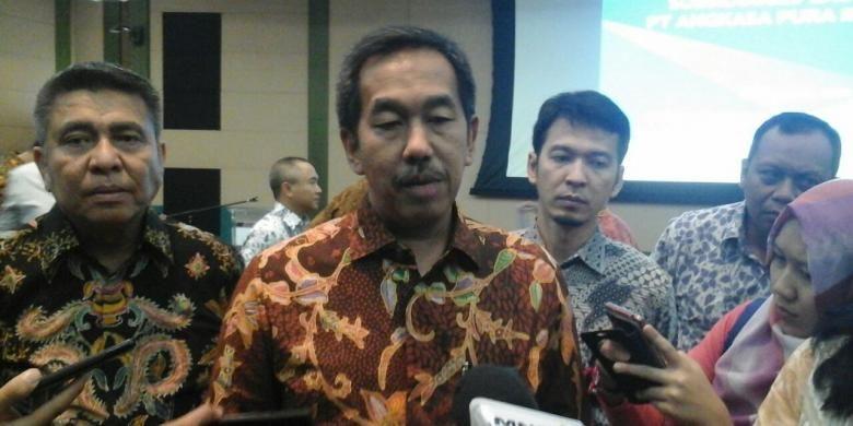 Direktur Utama AP II Muhammad awaluddin