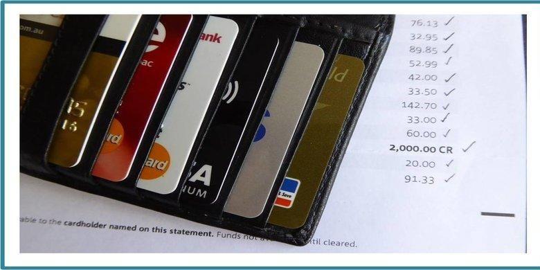 Ilustrasi kartu kredit