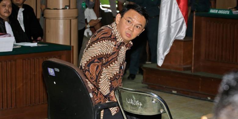 Jaksa Menuntut Ahok Bersalah dan Dipidana 1 Tahun Penjara