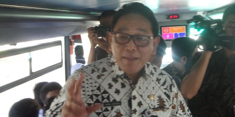 Kepala Dinas Pendidikan DKI Jakarta Sopan Adrianto