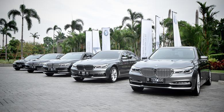 BMW Seri 7 yang tahun ini akan menjadi fokus untuk dikomunikasikan, bersama high end sedan lainnya.