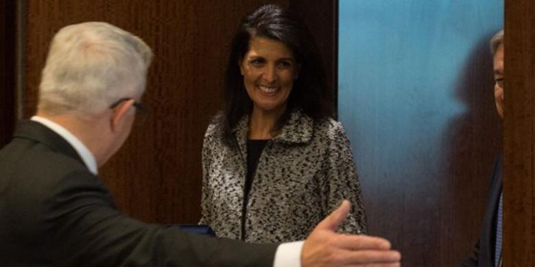 Dubes AS di Trump Bakal - Duta Besar Amerika Serikat untuk Perserikatan Nikki Haley tidak ada yang perlu diragukan dengan upaya penyelidikan atas dugaan