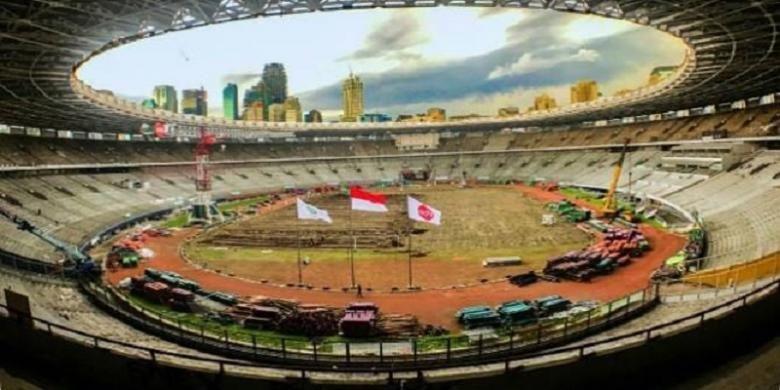 Pengelola GBK Senayan Siapkan Sistem - KompasProperti Renovasi dan rehabilitasi Stadion Utama Gelora Bung Karno beserta sejumlah venue lain di Kompleks GBK Senayan terus