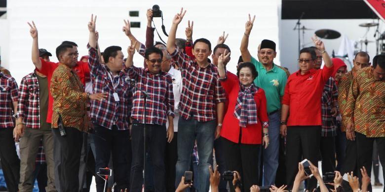 Ahok-Djarot Kalah, Bagaimana Reaksi Megawati?