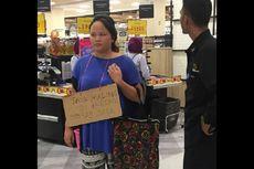 Perempuan yang Tertangkap di Aeon Cakung Spesialis Pencuri di Mal