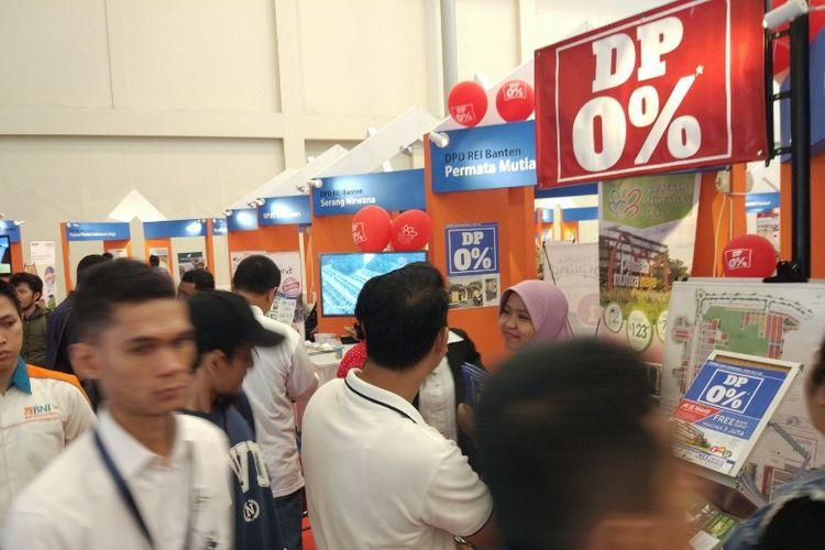 Pameran REI Mega Expo di ICE BSD City, Tangerang, Sabtu (16/9/2019).