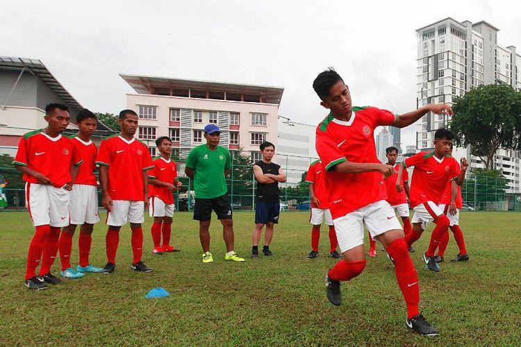 Cabang sepakbola siap merebut medali emas ASEAN Paragames 2017